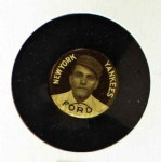 1910 Sweet Caporal Pins LG Russ Ford  Front Thumbnail
