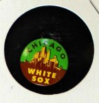 1966 Guys Potato Chip Pin #4   Chicago White Sox Front Thumbnail