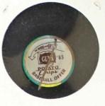 1965 Guys Potato Chip Pin #2   Boston Red Sox Back Thumbnail