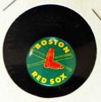 1965 Guys Potato Chip Pin #2   Boston Red Sox Front Thumbnail