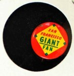 1965 Guys Potato Chip Pin #17   San Francisco Giants Front Thumbnail