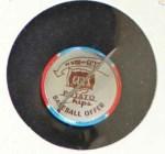 1964 Guys Potato Chip Pin #11   Los Angeles Back Thumbnail