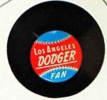 1964 Guys Potato Chip Pin #11   Los Angeles Front Thumbnail