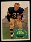 1960 Topps #34  Fred Cone  Front Thumbnail