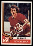 1974 Topps #68  Tom Lysiak  Front Thumbnail