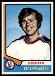 1974 Topps #173  Peter McDuffe  Front Thumbnail