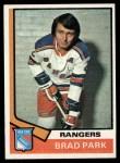 1974 Topps #50  Brad Park  Front Thumbnail