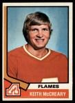 1974 Topps #103  Keith McCreary  Front Thumbnail