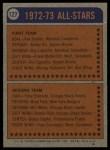 1974 Topps #127   -  Richard Martin All-Star Back Thumbnail