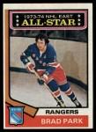 1974 Topps #131   -  Brad Park All-Star Front Thumbnail