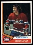 1974 Topps #178  Chuck Lefley  Front Thumbnail