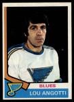 1974 Topps #63  Lou Angotti  Front Thumbnail