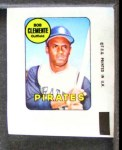 1969 Topps Decals  Roberto Clemente  Front Thumbnail