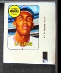 1969 Topps Decals  Fergie Jenkins  Front Thumbnail