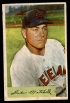 1954 Bowman #148  Dale Mitchell  Front Thumbnail