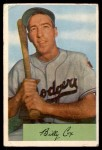 1954 Bowman #26 ALL Billy Cox  Front Thumbnail