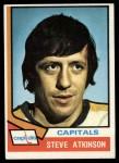 1974 Topps #192  Steve Atkinson  Front Thumbnail