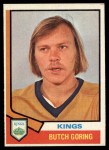 1974 Topps #74  Butch Goring  Front Thumbnail