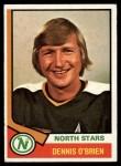 1974 Topps #96  Dennis O'Brien  Front Thumbnail