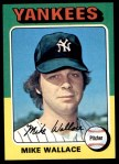 1975 Topps #401  Mike Wallace  Front Thumbnail