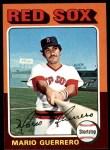 1975 Topps #152  Mario Guerrero  Front Thumbnail