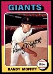 1975 Topps #132  Randy Moffitt  Front Thumbnail