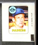 1969 Topps Decals  Dick Selma  Front Thumbnail