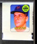 1969 Topps Decals  Tom Seaver  Front Thumbnail