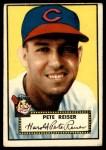 1952 Topps #189 CRM Pete Reiser  Front Thumbnail