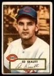 1952 Topps #171 CRM Ed Erautt  Front Thumbnail