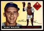 1955 Topps #108  Rube Walker  Front Thumbnail