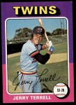 1975 Topps #654  Jerry Terrell  Front Thumbnail