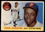 1955 Topps #133  Dave Hoskins  Front Thumbnail