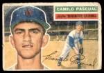1956 Topps #98  Camilo Pascual  Front Thumbnail