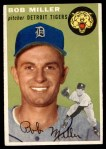 1954 Topps #241  Bob Miller  Front Thumbnail
