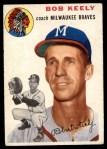 1954 Topps #176  Bob Keely  Front Thumbnail