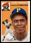 1954 Topps #242  Curt Roberts  Front Thumbnail