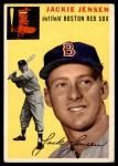 1954 Topps #80  Jackie Jensen  Front Thumbnail