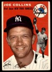 1954 Topps #83  Joe Collins  Front Thumbnail