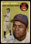 1954 Topps #70  Larry Doby  Front Thumbnail