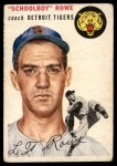1954 Topps #197  Schoolboy Rowe  Front Thumbnail