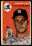 1954 Topps #175  Frank Leja  Front Thumbnail
