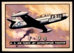 1952 Topps Wings #64   F-94 Front Thumbnail