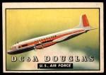 1952 Topps Wings #144   DC-6A Douglas Front Thumbnail