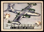 1952 Topps Wings #53   B-45 Tornado Front Thumbnail