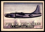 1952 Topps Wings #14   PB4Y-2 Privateer Front Thumbnail