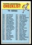 1966 Topps #517 WHT  Checklist 7 Front Thumbnail
