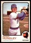 1973 O-Pee-Chee #21  Randy Hundley  Front Thumbnail