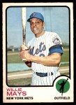 1973 O-Pee-Chee #305  Willie Mays  Front Thumbnail