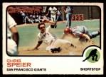 1973 O-Pee-Chee #273  Chris Speier  Front Thumbnail